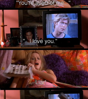 elle woods, legally blonde and liar