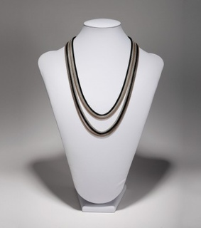 3 strand mesh necklace, fashion and long mesh necklace