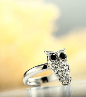 adjustable rings, animal rings and chic
