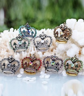 cross crown rings, crystal crown rings and fashion
