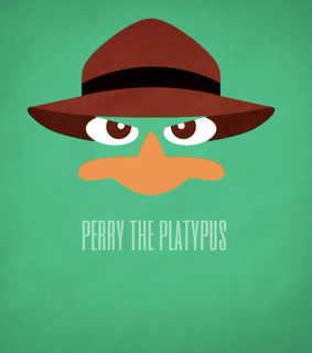 ferb, perry and perry the platypus
