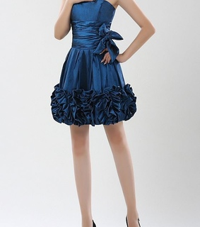 bow, cocktail dress and evening dress