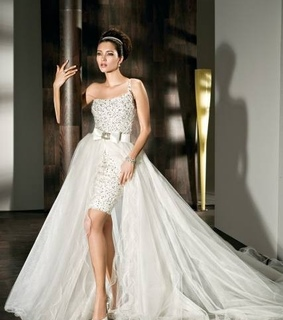 2in1, a-line and beach wedding dresses
