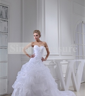a line wedding dress, beach wedding dress and beautiful wedding dress