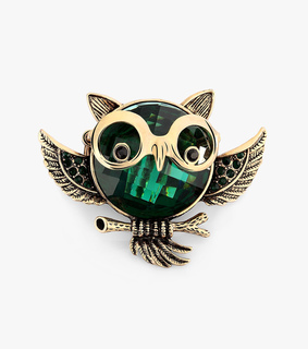 crystal owl rings, cute and funny