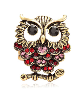 animal, antique owl and antique owl ring
