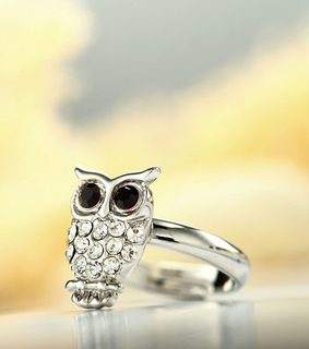 adjustable rings, animal rings and aowl pinky rings