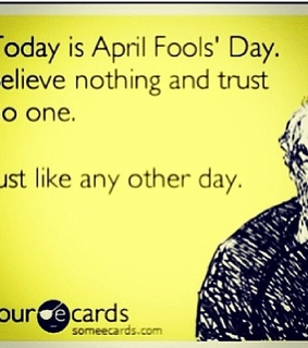 april fools, believe and cards