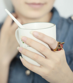 accessories, antique owl ring and beautiful