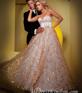 beauty, evening dresses and fashion