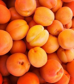 apricots, food and fruits