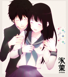 anime couple, cute and drawing
