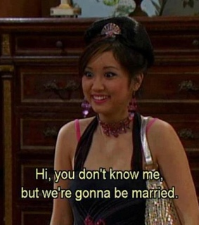 brenda song, london tipton and quote