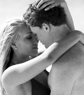 beach, couple and freckles