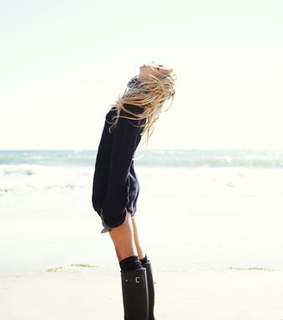 beech, blonde and boots