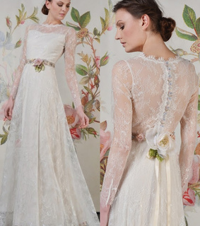 lace wedding dresses, vintage wedding dresses and Long Sleeved Wedding Dresses