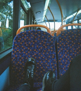 black, boots and bus