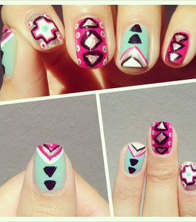 manicure, nail art and nail design