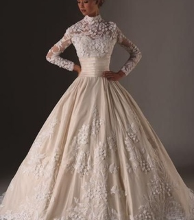 elegant, gown and timeless