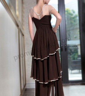 brown, fashion and quinceanera dress