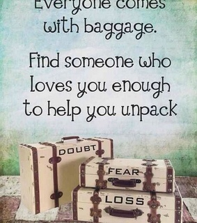 baggage, crush and fear