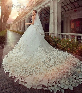 a-line wedding dresses, concise strapless dresses and beautiful dress 2013