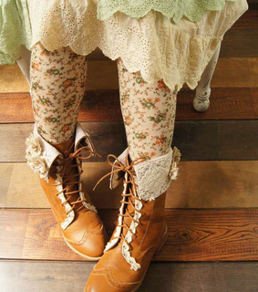 autumn, brown boots and country