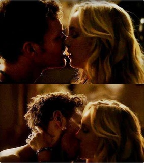 kiss, klaus and caroline and photography