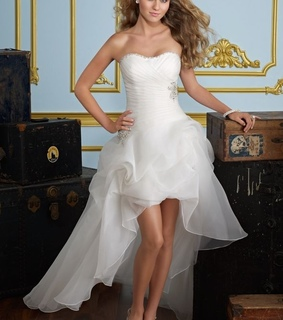beach wedding dresses, cheap wedding dresses and high low