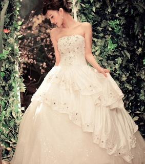 a-line wedding dresses, fashion wedding dress and morden wedding dress