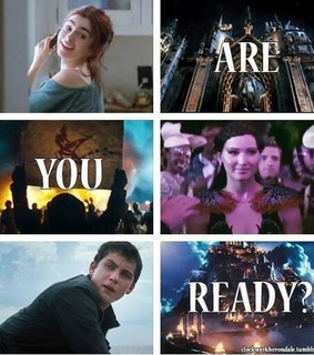 city of bones, hunger games and percy jackson