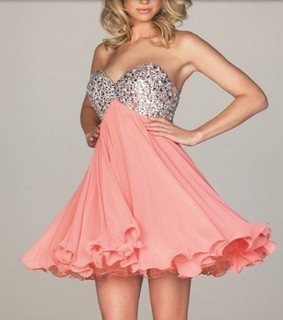dress and strapless dress