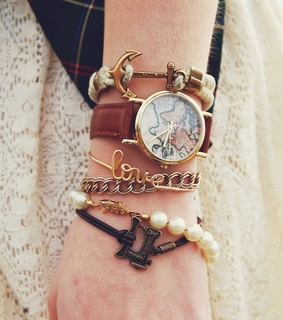 beautiful, bracelet and cute