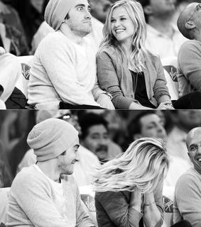 couple, cute and reese witherspoon