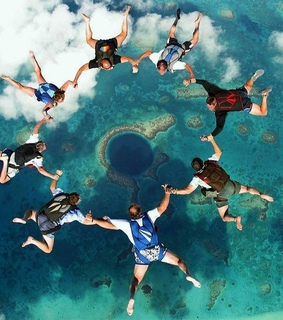 amazing, belize and skydiving