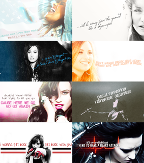 beautiful, demi lovato and don't forget