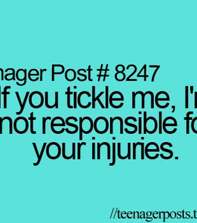 teenager post and tickle