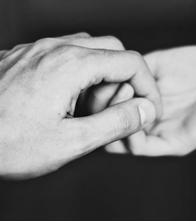 couple, cute and hands