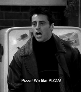 friends, love and pizza