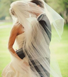 beautiful, bride and couple