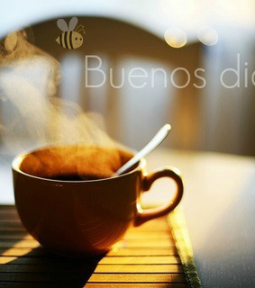 coffee, cup and good morning