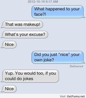 funny, funny girls and funny messages