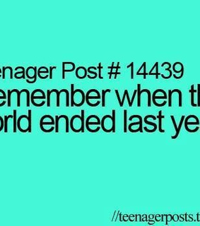 2012, end of the world and funny