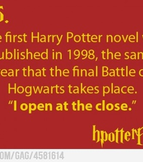 facts, fun facts and harry potter