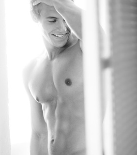 abs, hadsome and hot