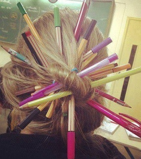 funny girl, hair style and lol