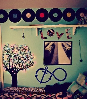 bedroom, ideas and record