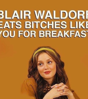 blaire, funny and gossip girl
