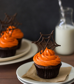cupcakes, doce and halloween