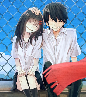 anime boy, anime girl and kagerou project
